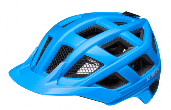 KED Crom MTB Helm blue matt