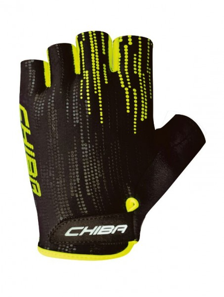 Chiba Road Plus gloves black / neon