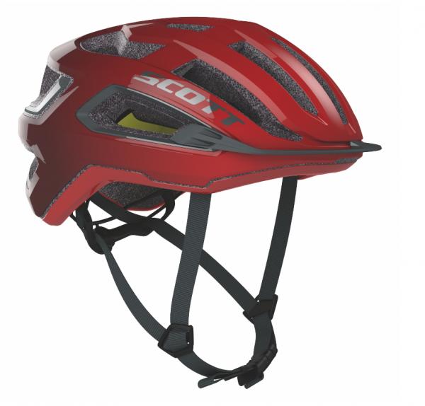 Scott Helmet Arx Plus fiery red/storm grey