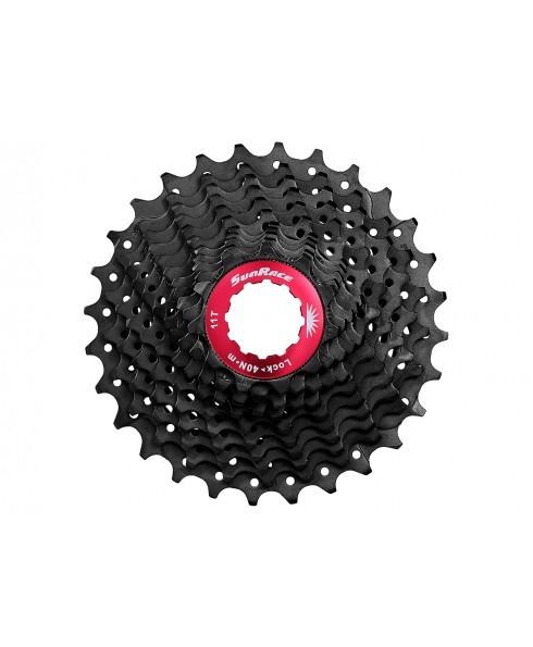 Sunrace Kassette CSRX1 11-fach 11-32 Rennrad Schwarz