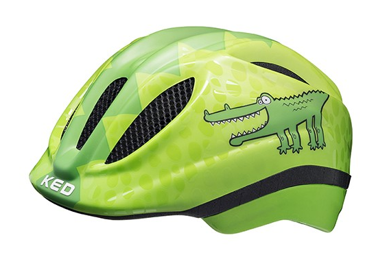 KED Meggy II Trend Kinder Helm green croco