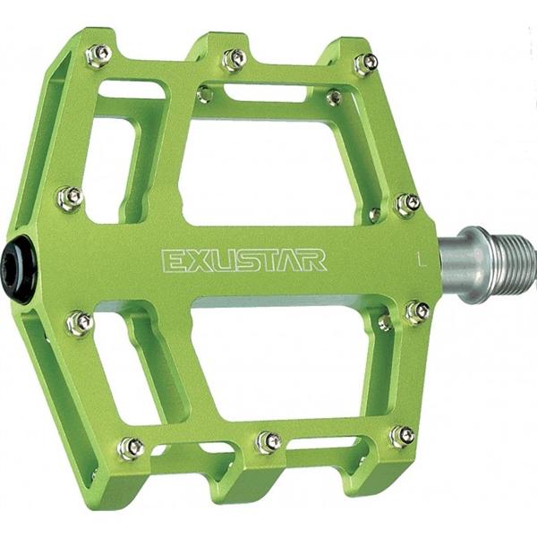 Exustar E-PB525 MTB / BMX Plattformpedal grün