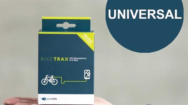PowUnity Bike Trax - GPS Tracker for E-Bikes - universal