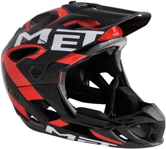 Met Parachute MTB-Helm Black/Red