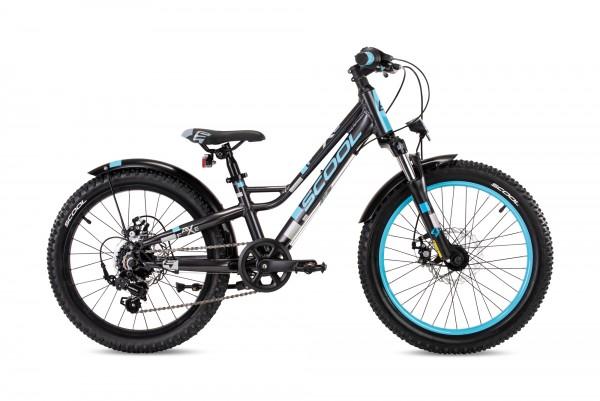 S´COOL faXe 20 Aluminium 7-Gang darkgrey/blue matt