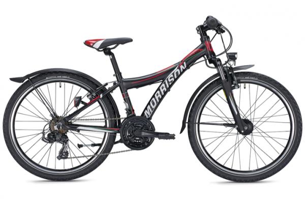 Morrison Mescalero S24 24 inch Y black/red Kids Bike