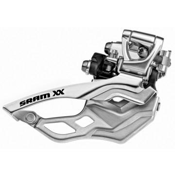 SRAM XX Front Derailleur 2x10-speed - High Clamp 38,2mm Top Pull