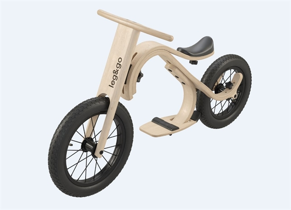 Leg&go Downhill Bike - leg&go Downhill Bike (Add-on), 2- 5 Years, 14''
