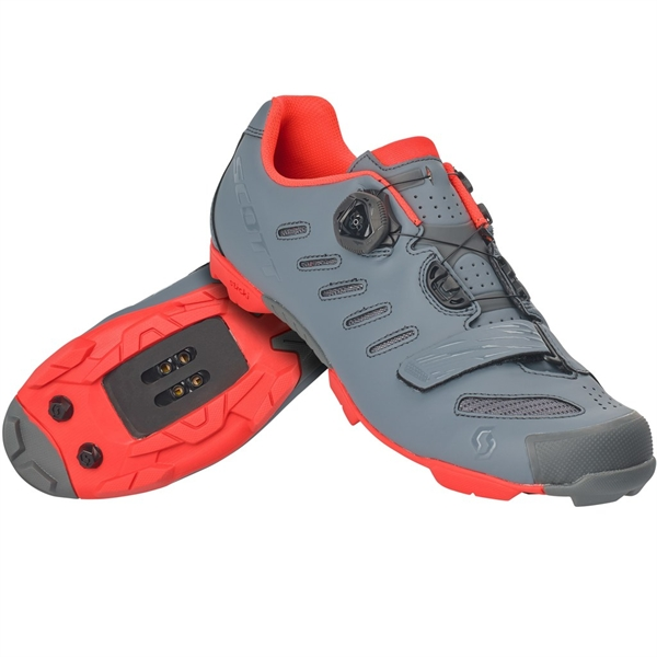 Scott Shoe MTB Team Boa cool grey neon orange