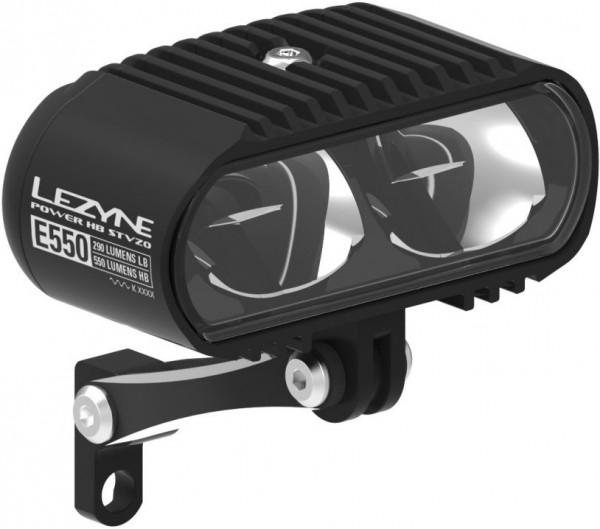 Lezyne LED Power HB StVZO E550 Vorderlicht Vorbaumontage für E Bike