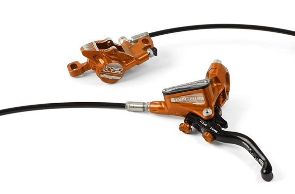 Hope Tech3 X2 Disc Brake RW orange