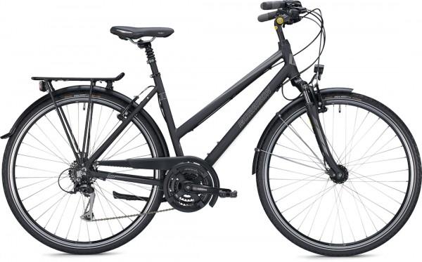 """Morrison Trekkingbike T 2.0 Trapez Damen 28"""" Schwarz Matt 45 cm"""