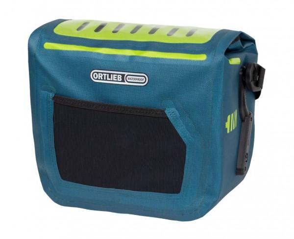 Ortlieb E-Glow handlebar pack for E-Bikes petrol