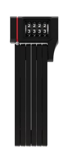 Abus Foldable Bordo 5700/80 uGrip Combo black