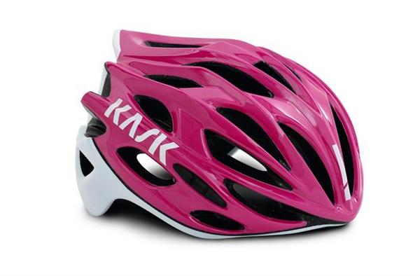 Kask Helm Mojito X pink/weiß