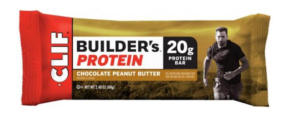 Clif Bar Builders Bar chocolate peanut butter