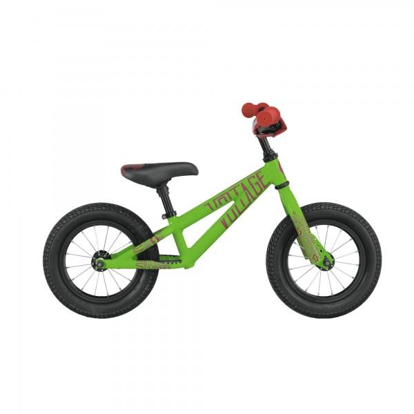 """Scott Bike Voltage Walker 12"""" Lernlaufrad grün/rot"""