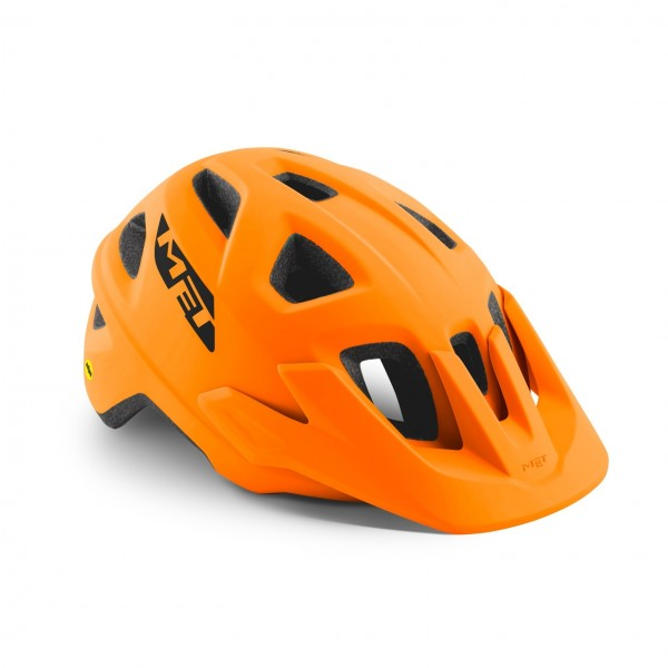 Met Echo MIPS Helm Orange Matt