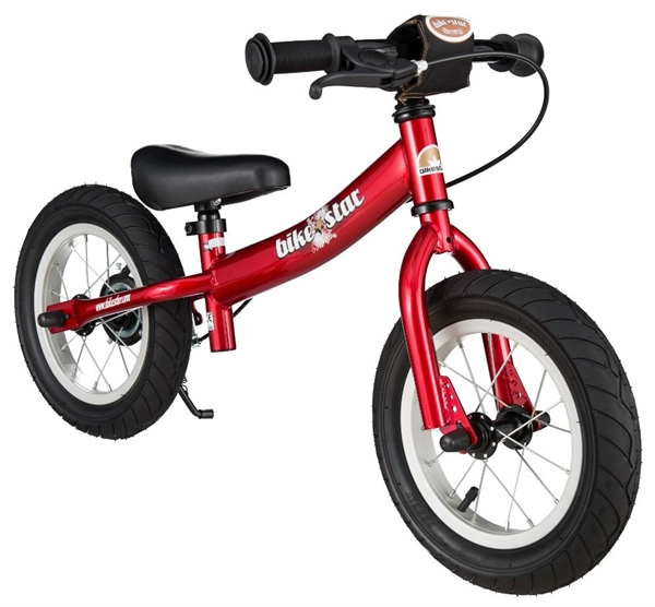 Bikestar Sicherheits-Kinderlaufrad Sport 12 Zoll herzschlag rot