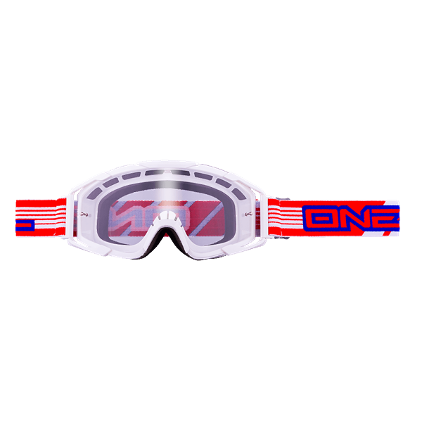 ONeal B2 RL Goggle THREESIXZERO white/clear