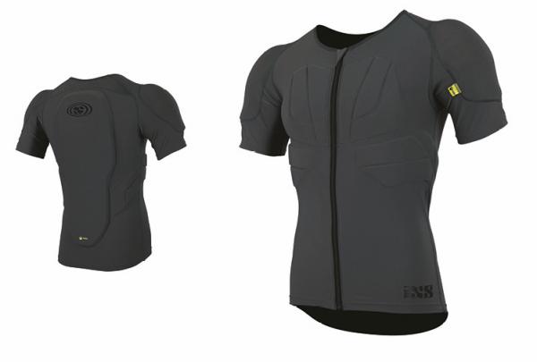 IXS Carve jersey upper body protective grey