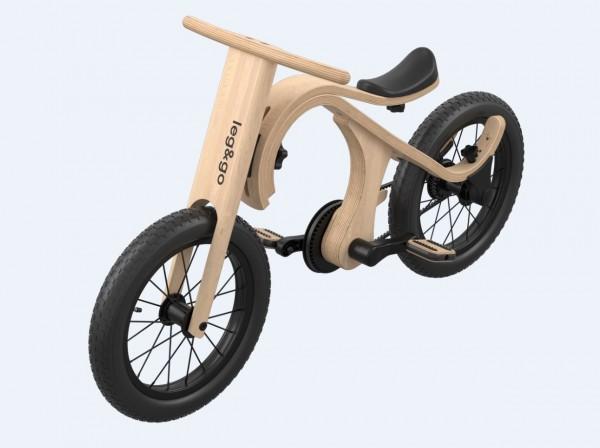 Leg&go Fahrrad - Zusatzteil zu leg&go 3in1 Laufrad, 3 - 6 Jahre, 14''