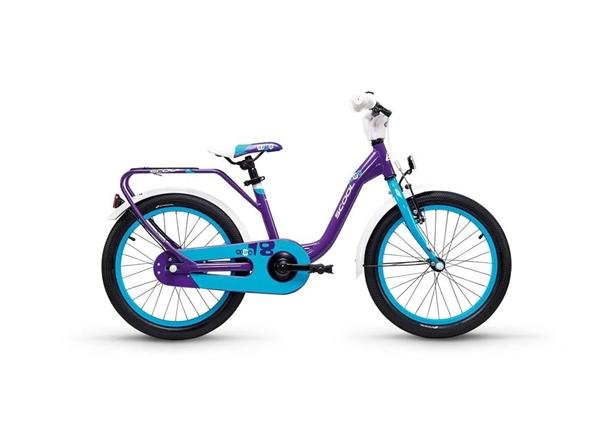 S´COOL niXe 18 Aluminium 1-Gang violet/blue