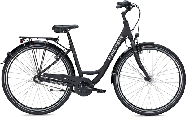 "Falter City / Urbanbike C 2.0 28 ""matt, black"