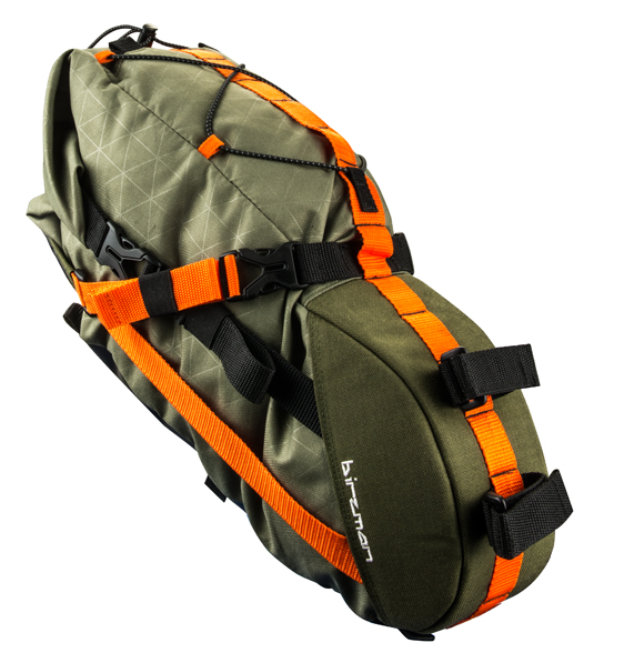 Birzman Packman travel saddle pack olive Satteltasche