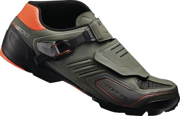 Shimano SH-M200G MTB shoe green %