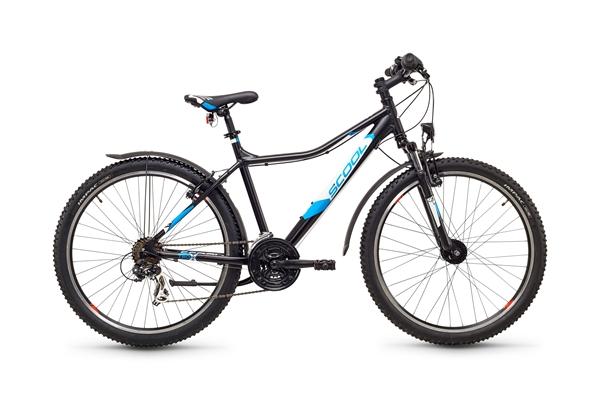 S´COOL trox urban 26 Aluminium 21-Gang black/blue matt