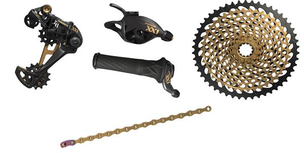 SRAM Upgrade Kit XX1 Eagle 1x12 - schwarz/gold