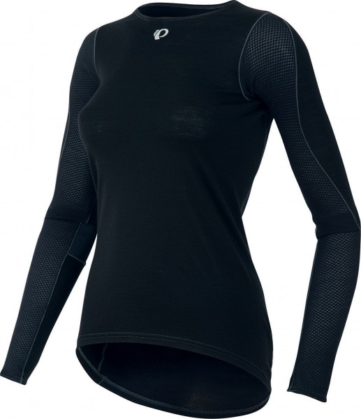 Pearl Izumi Women Transfer Wool LS Cycling Baselayer black