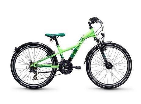 S´COOL XXLite 24 steel 21-speed neon green %
