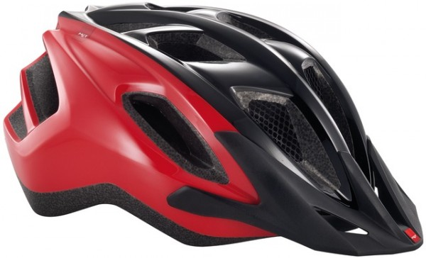 Met Funandgo Helmet black/red - Unisize