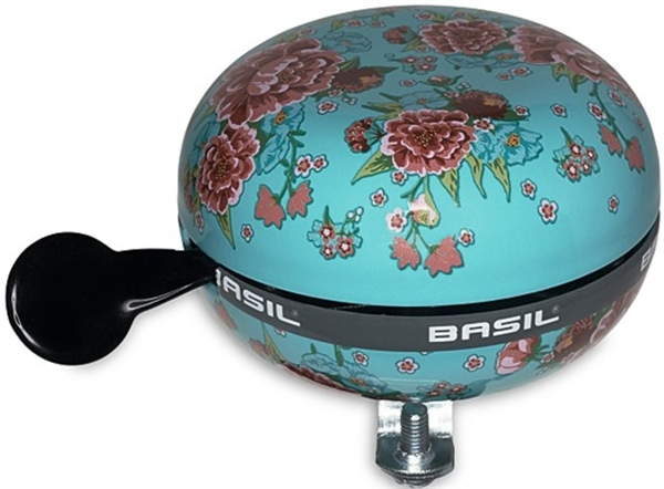 Basil bicycle bell Big Bell Bloom emerald green