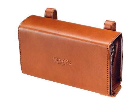 Brooks D-shaped Satteltasche - honey