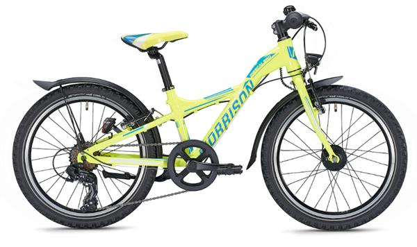 Morrison Mescalero S20 20 Zoll Y-Lite gelb/blau Kinderrad