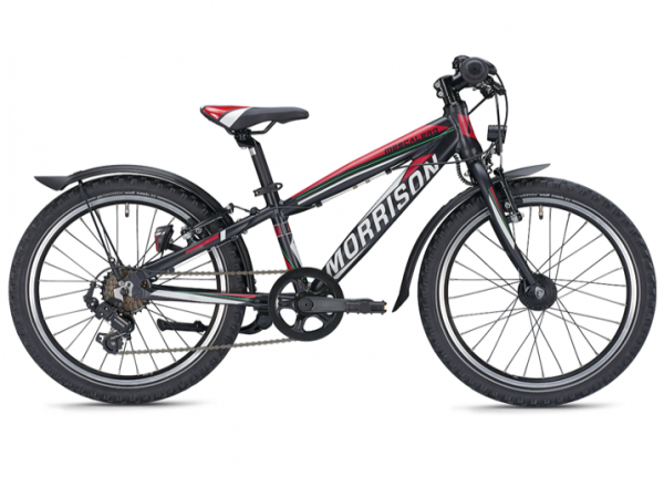 Morrison Mescalero S20 20 Zoll Diamant schwarz/rot Kinderrad