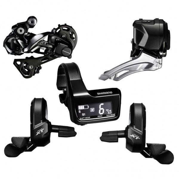 Shimano XT Upgrade Kit Di2 M8050 2x11 speed black