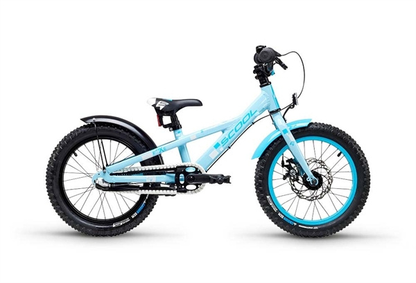 S´COOL faXe 16 alloy 3-speed lightblue reflex