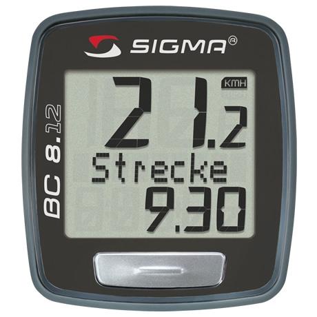 Sigma bike computer Topline 2012 BC 8.12