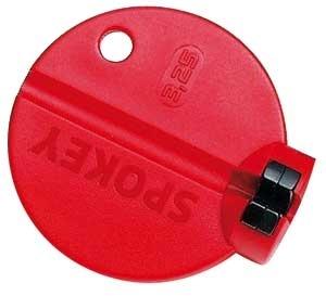Mounty Spokey Professional Speichenschlüssel rot 3,25mm