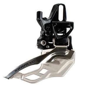 SRAM X0 2x10-fach Umwerfer high directmount, 36/38 Z. Top Pull
