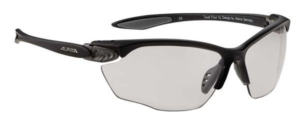 Alpina Twist Four VL+ glasses black-grey Varioflex+ black