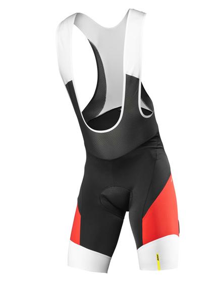Mavic Cosmic Pro Bib Short black/racing red