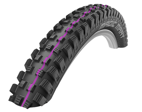 Schwalbe Magic Mary Addix 26x2.60 - Downhill - Ultra Soft (11100943.01)