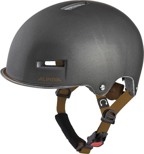 Alpina Grunerlokka Helm sepia