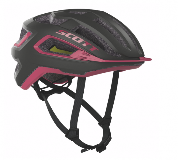 Scott Helmet Arx Plus dark grey/pink