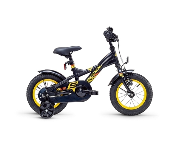 S´COOL XXlite 12 steel 1-speed black/yellow